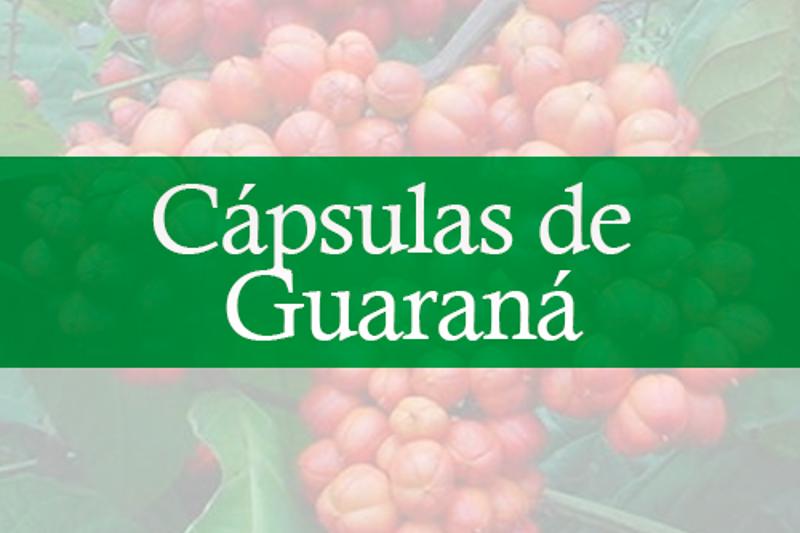 Cápsulas de Guarana